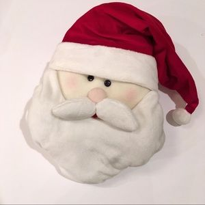 Plush Santa Face NWT